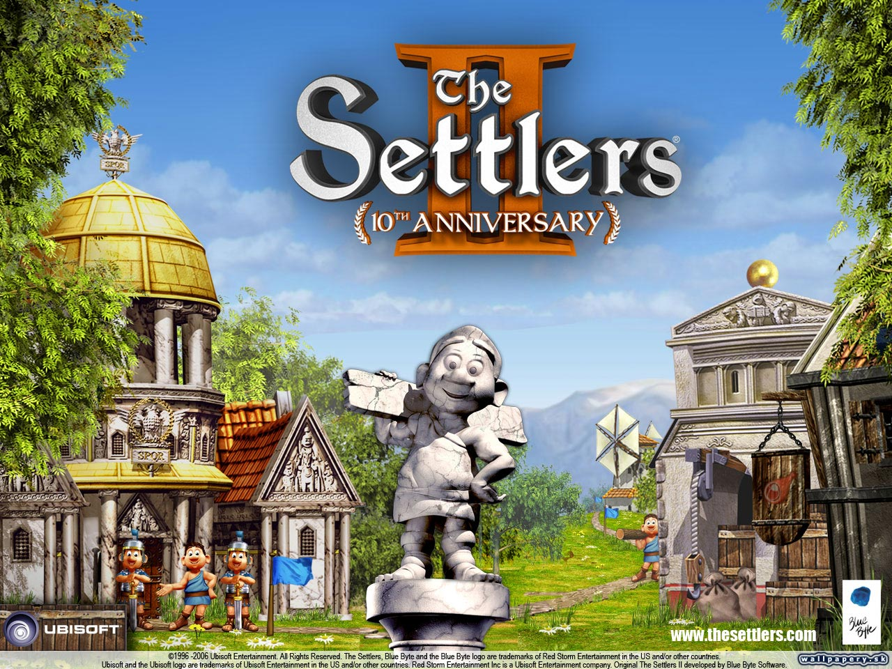 Settlers 2: 10th Anniversary - wallpaper 10